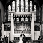 At the alter at Millwood Trinity Church, Southampton.